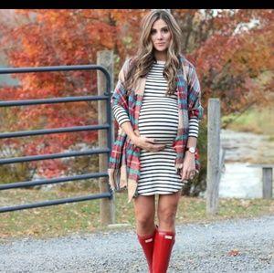 Maternity Tart stripe  Dress